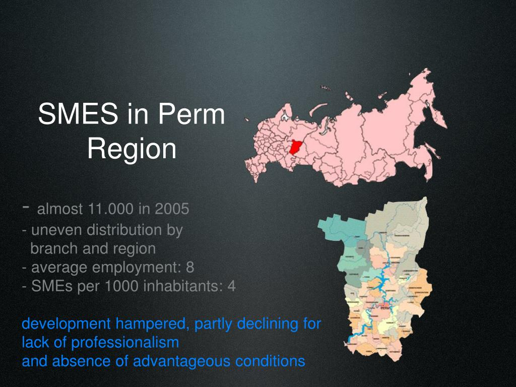 SMES in Perm Region