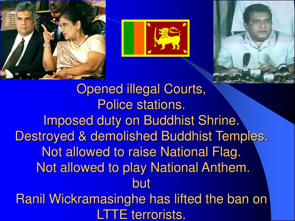 Opened illegal Courts,