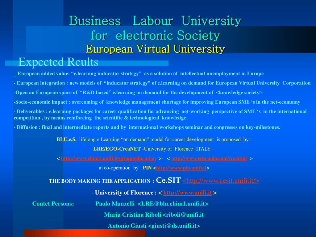 Business   Labour  University