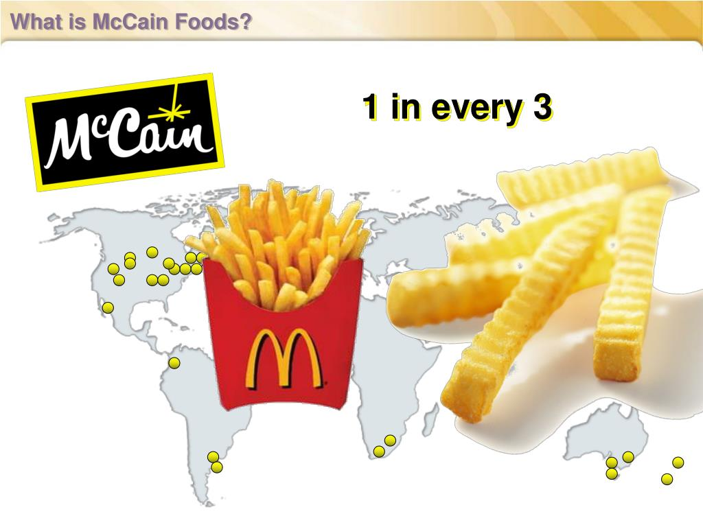 What is McCain Foods?