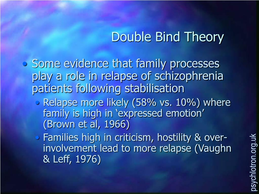 Double Bind Theory