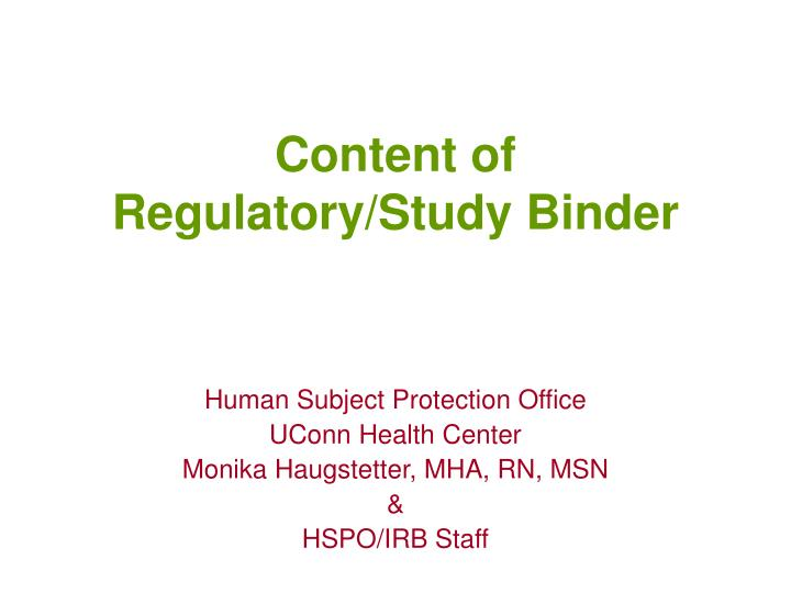 Content of regulatory study binder l.jpg