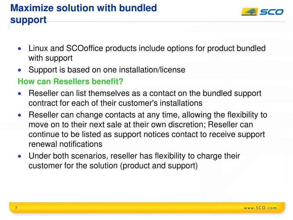 Maximize solution with bundled support