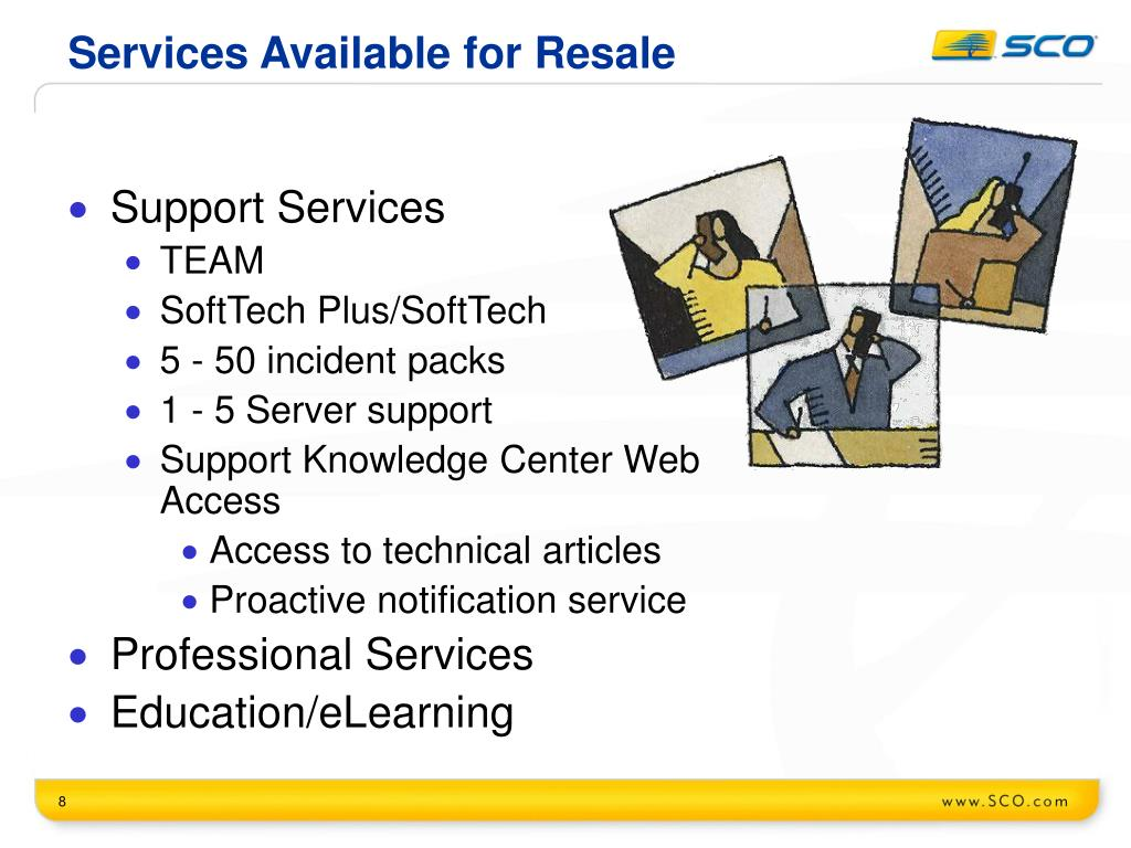 Services Available for Resale