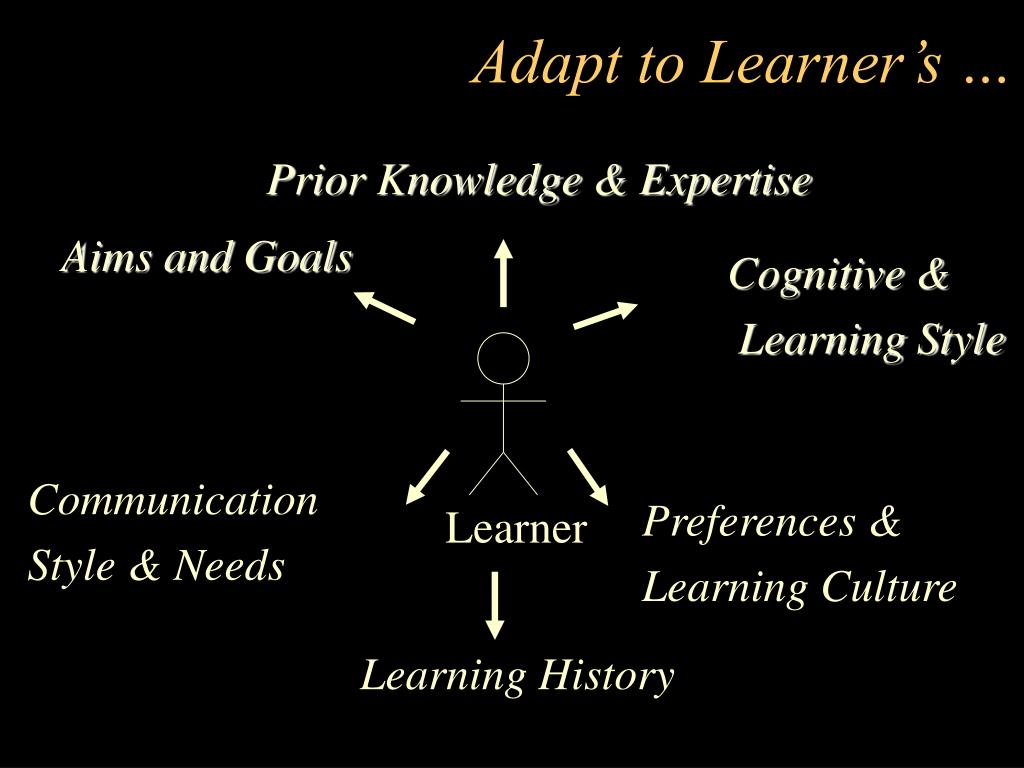 Prior Knowledge & Expertise