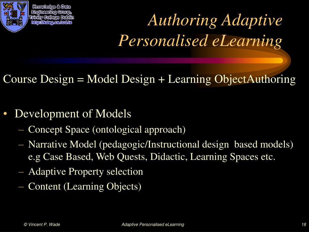 Authoring Adaptive