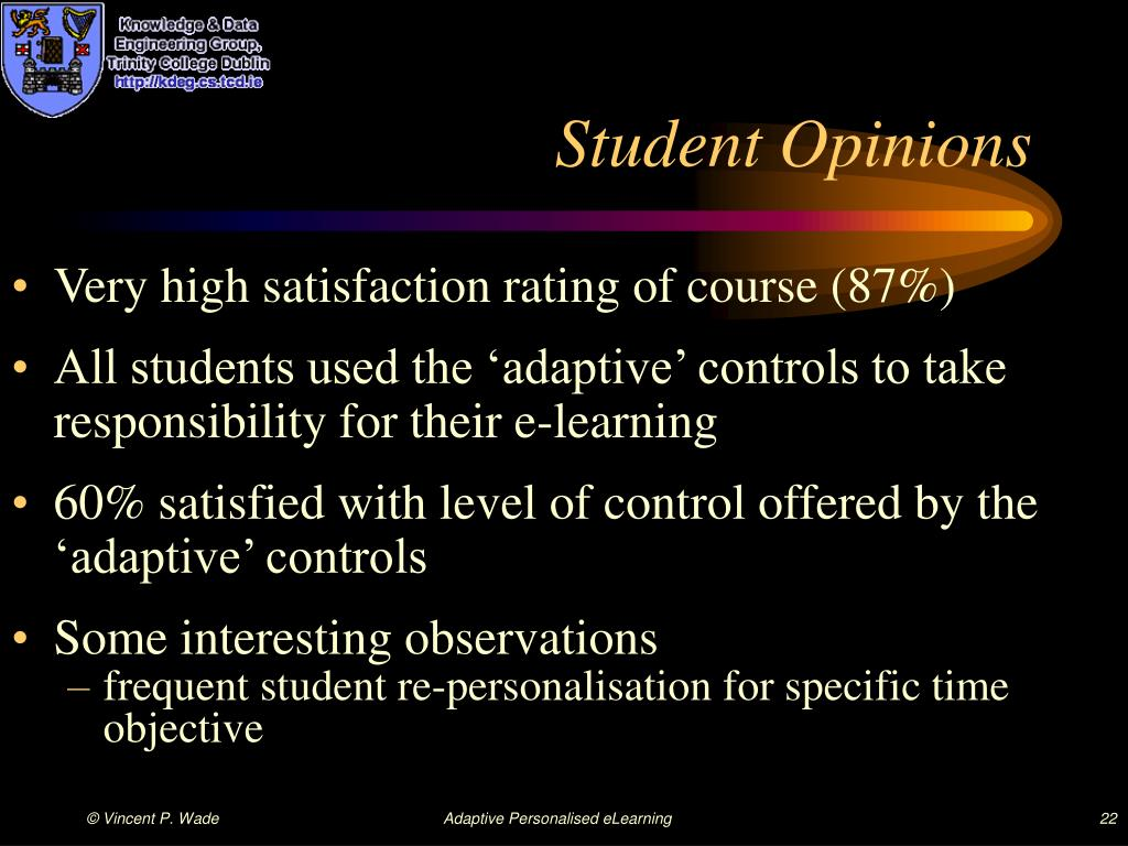 Student Opinions