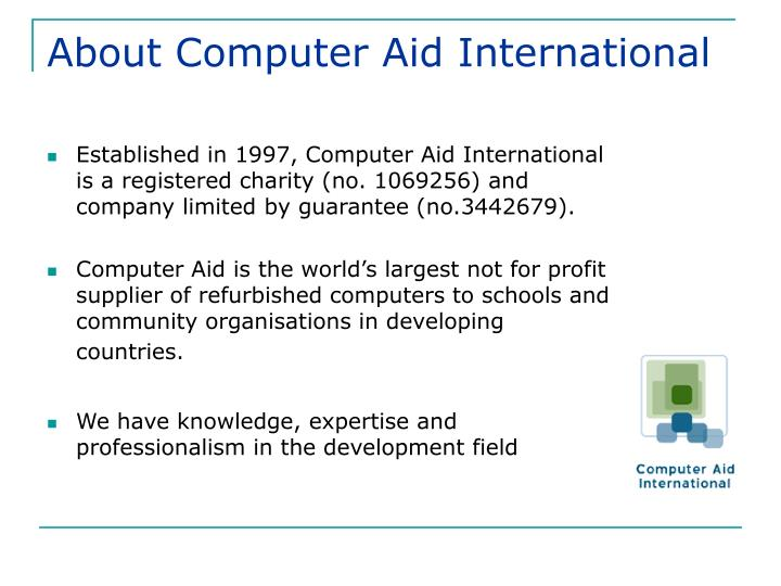 About Computer Aid International