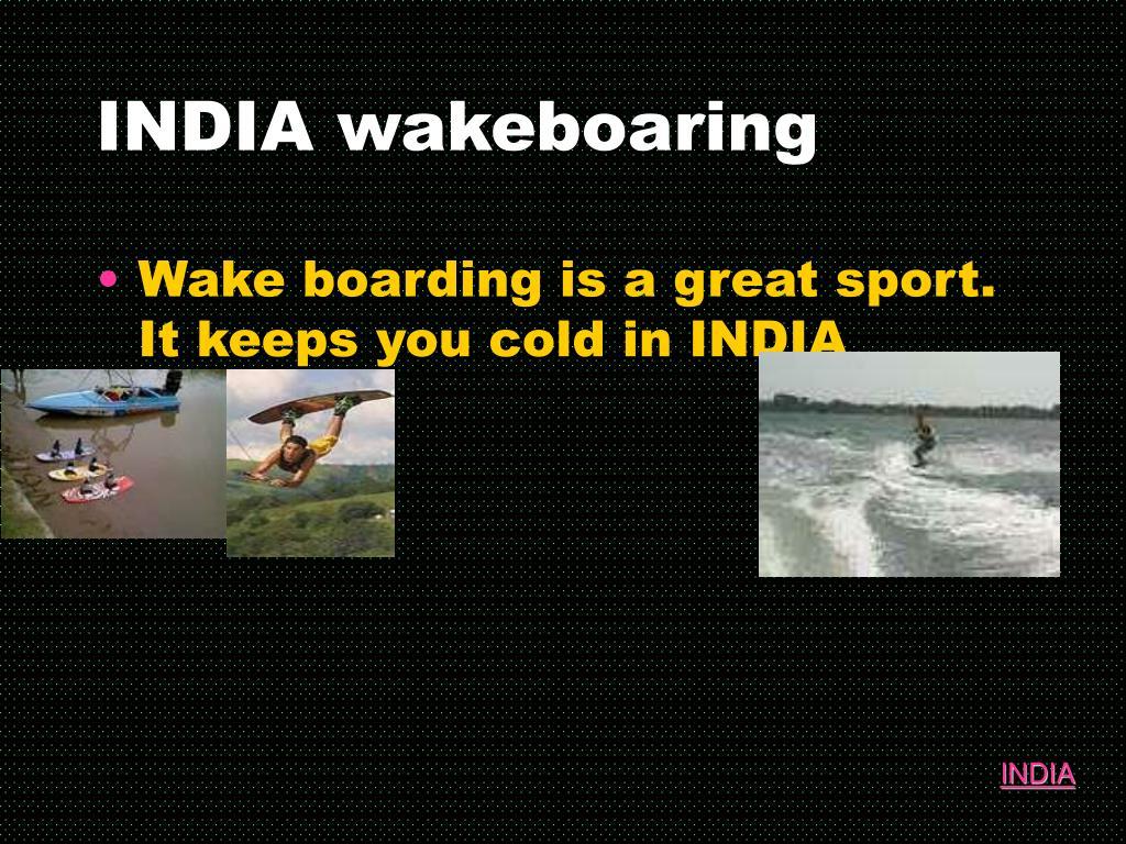 INDIA wakeboaring