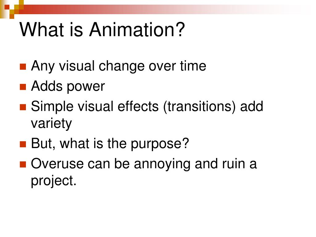how to give animation in ppt