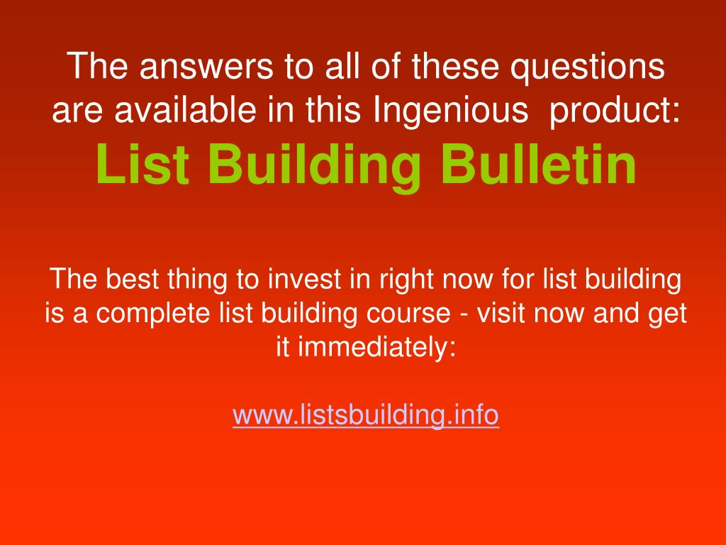 The answers to all of these questions are available in this Ingenious  product: