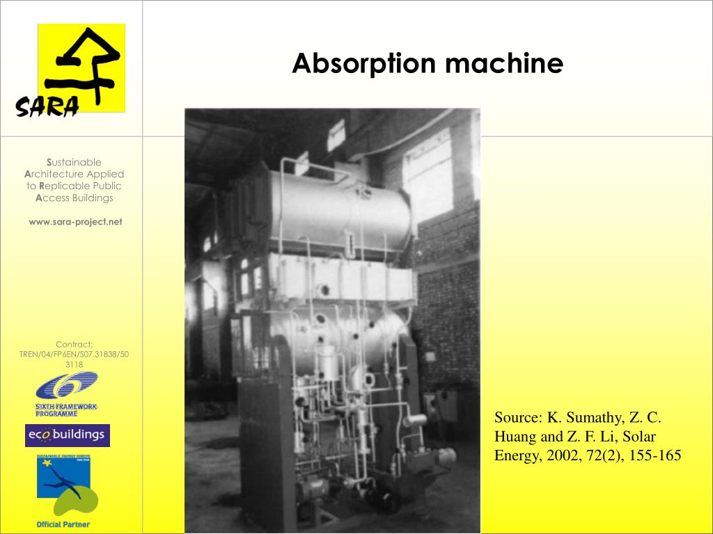 Absorption machine