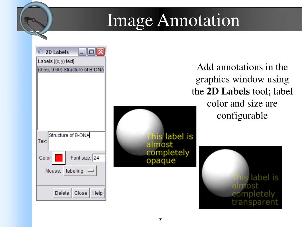 Image Annotation