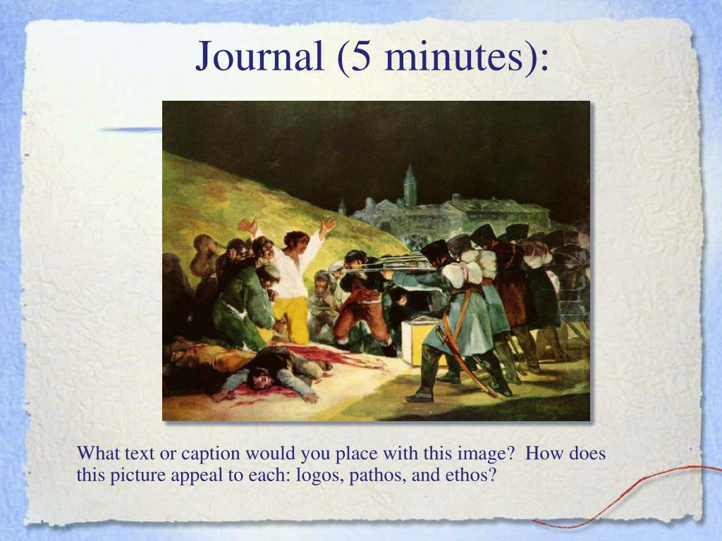 Journal (5 minutes):