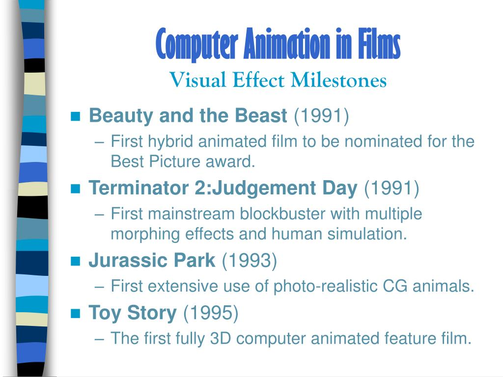 Computer Animation in Films
