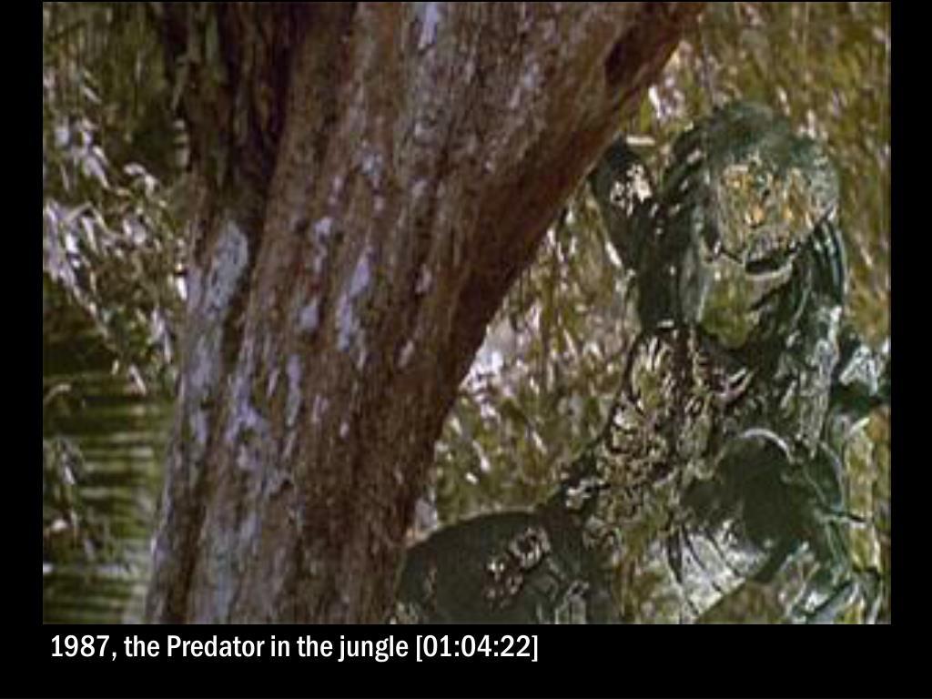 1987, the Predator in the jungle [01:04:22]