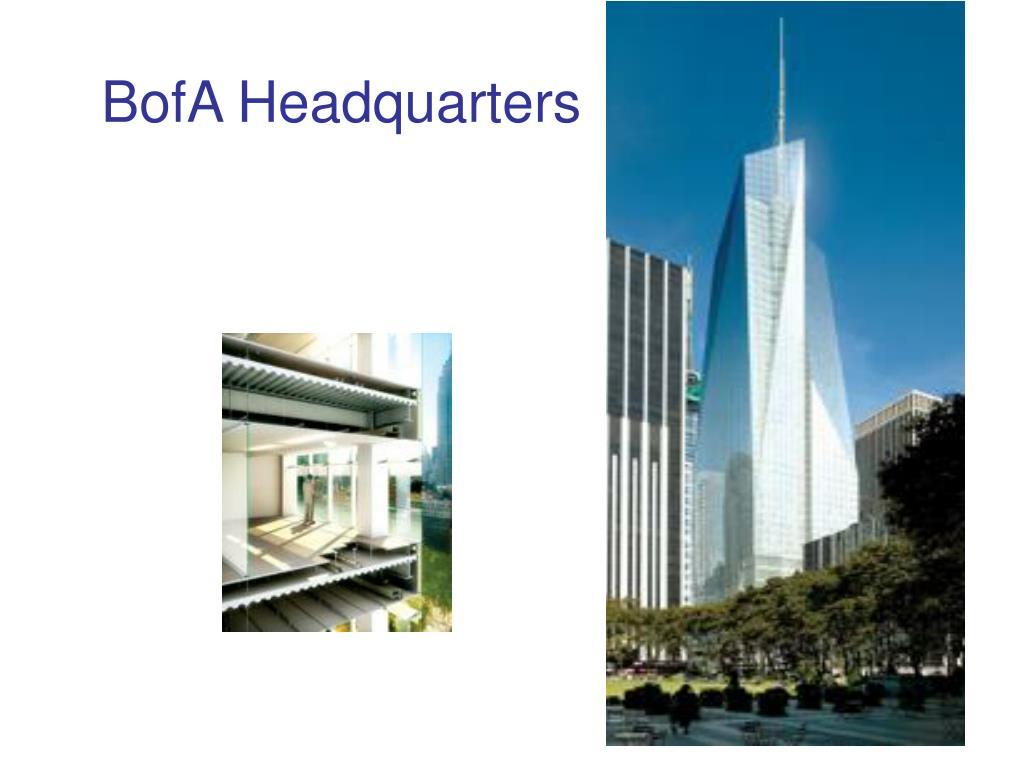 BofA Headquarters