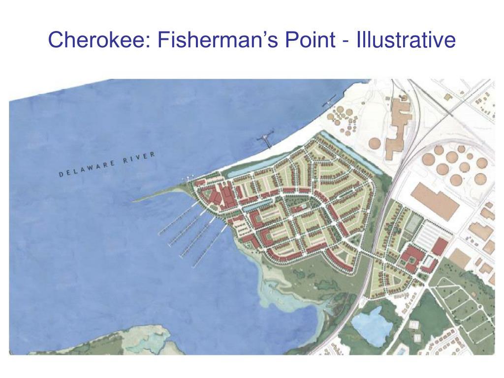 Cherokee: Fisherman's Point - Illustrative
