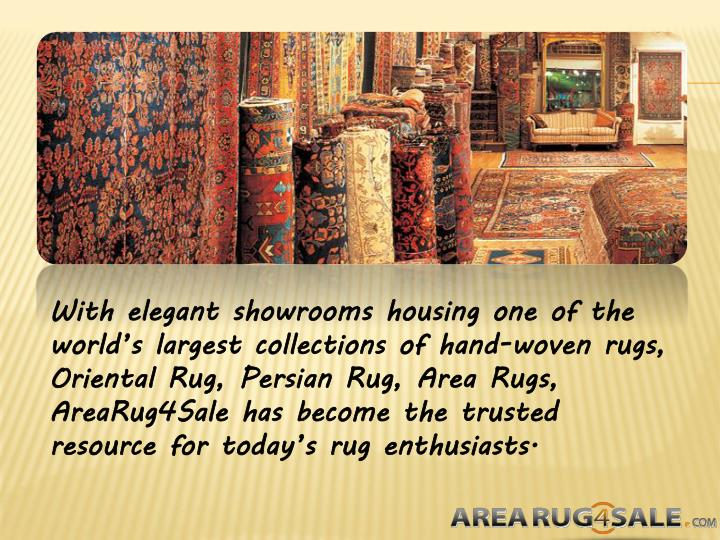 With elegant showrooms housing one of the world's largest collections of hand-woven rugs, Oriental...