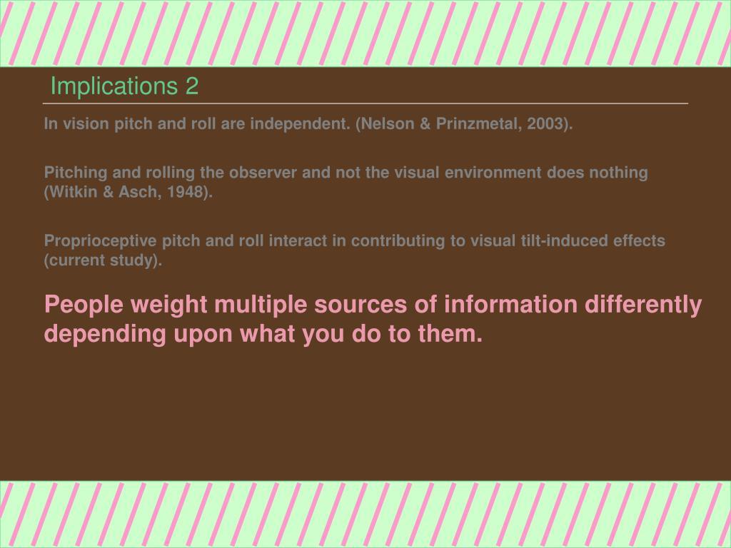Implications 2
