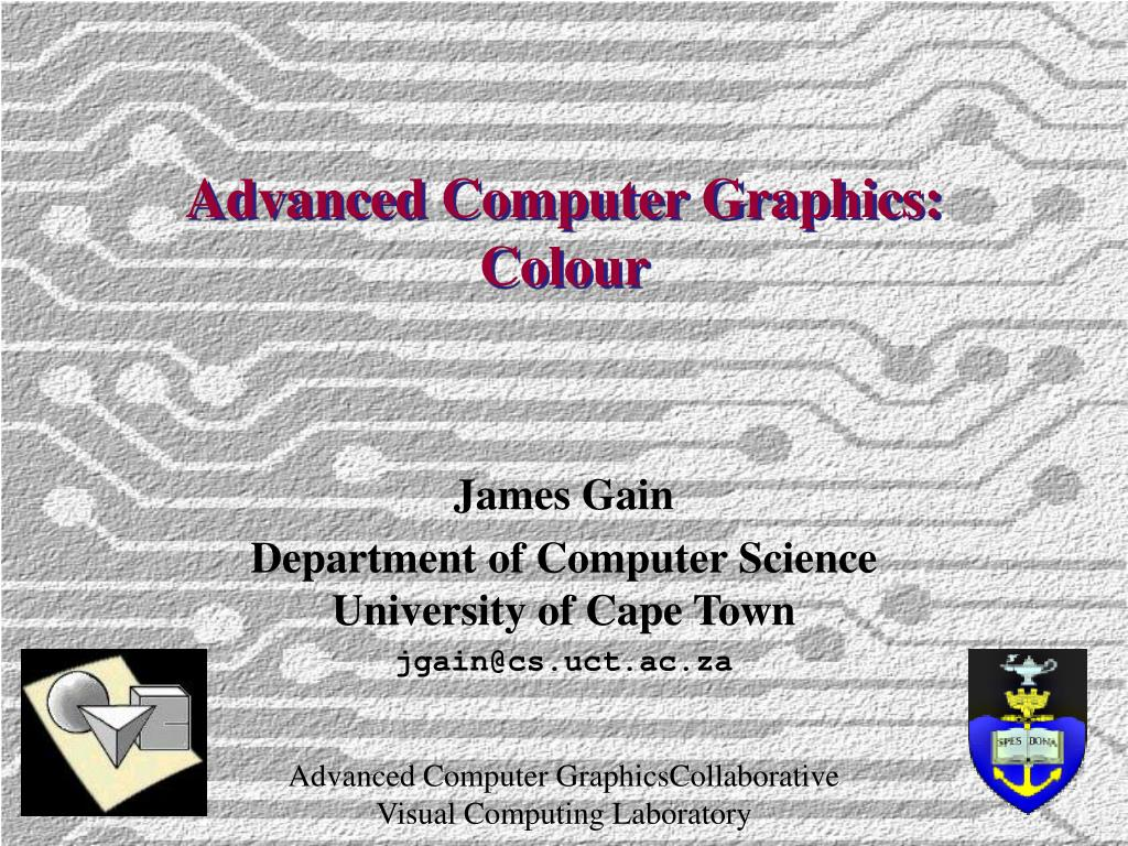 Advanced Computer Graphics: