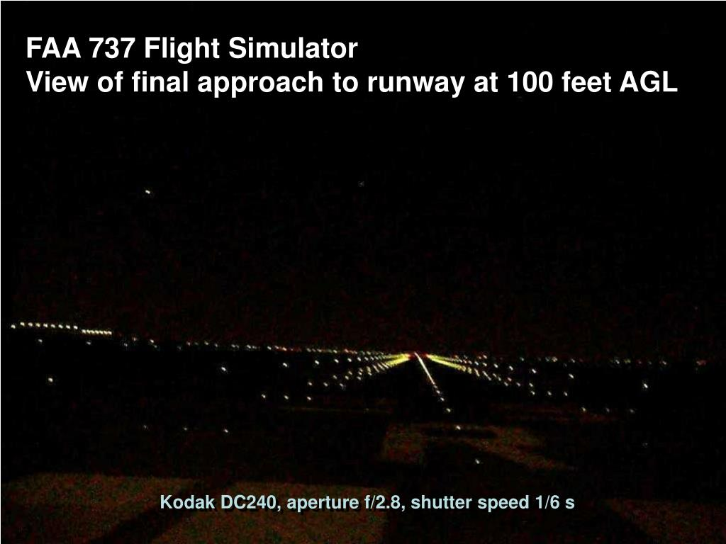 FAA 737 Flight Simulator