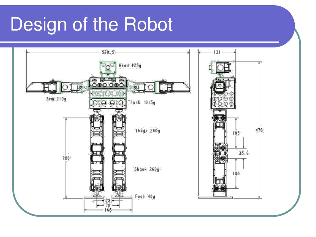 Design of the Robot