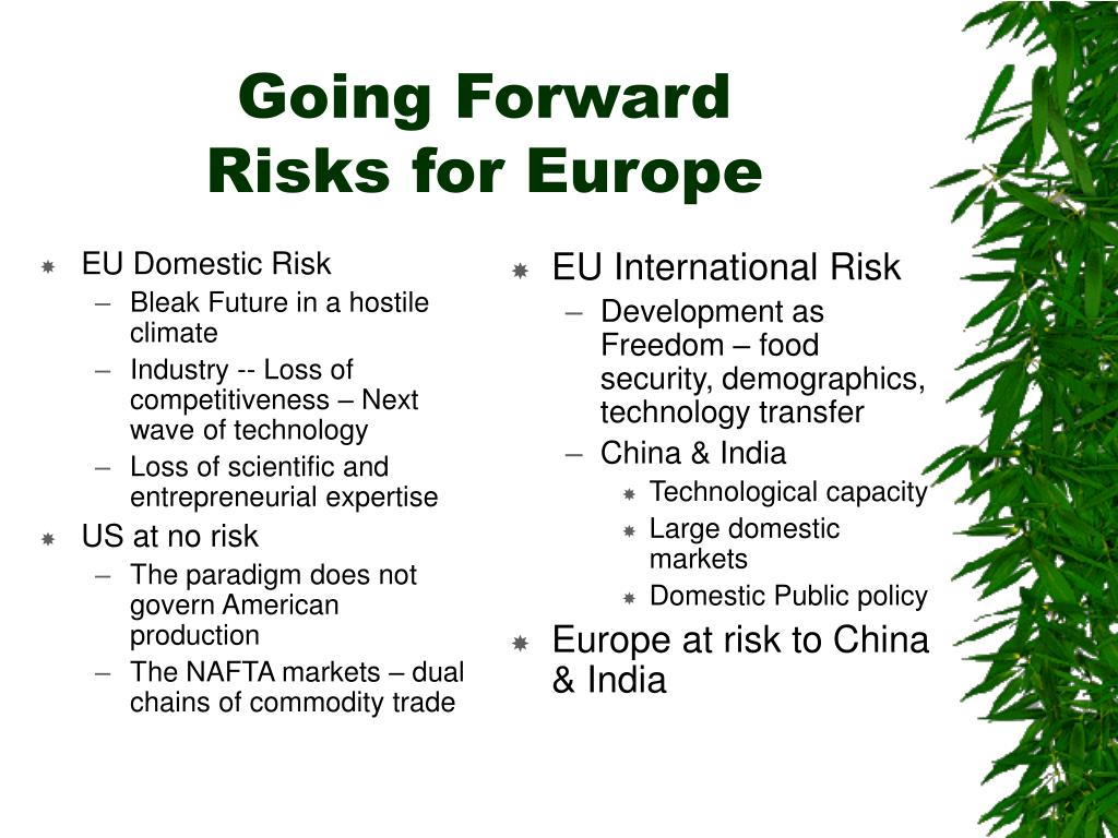 EU Domestic Risk