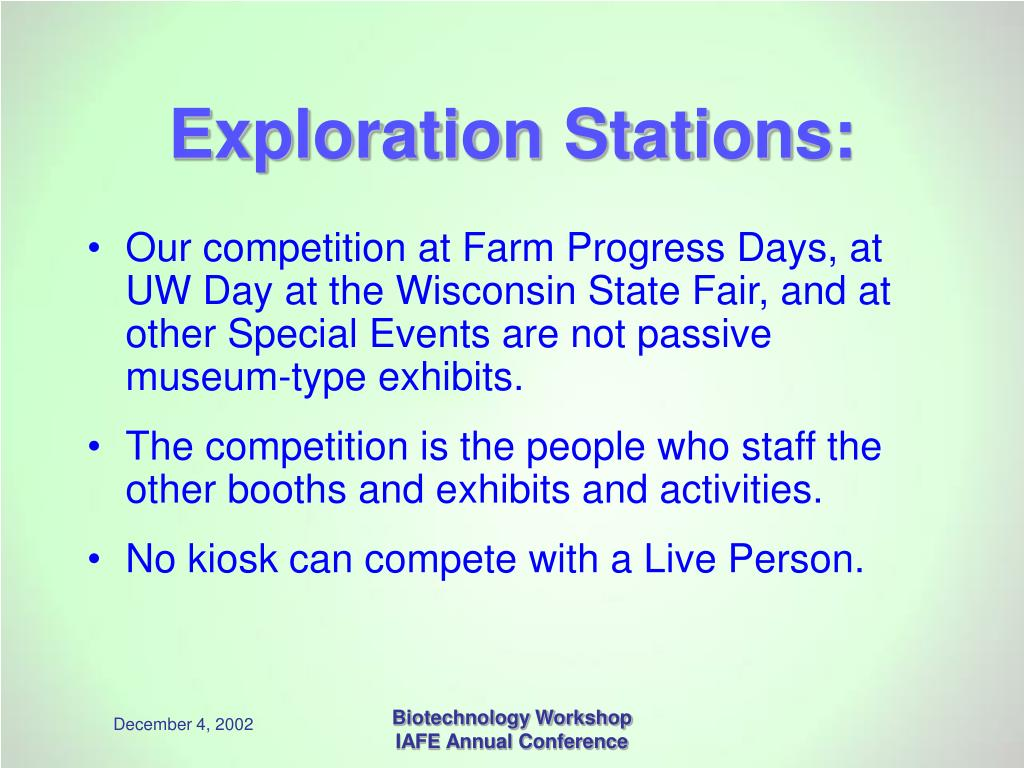 Exploration Stations: