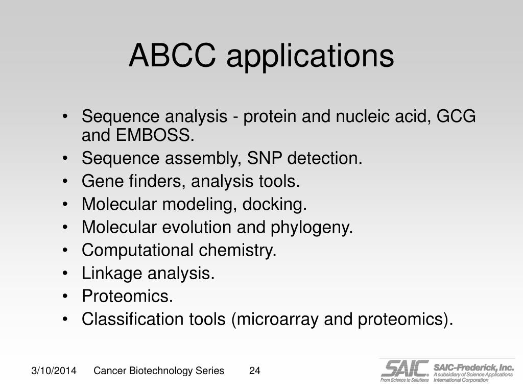 ABCC applications
