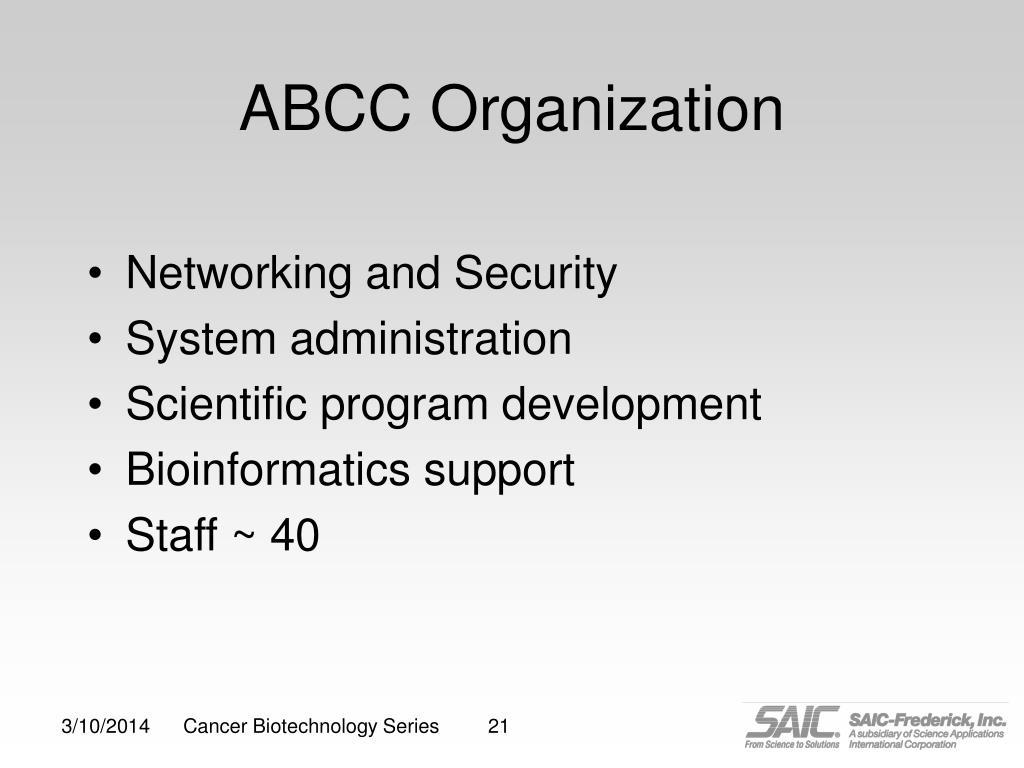 ABCC Organization