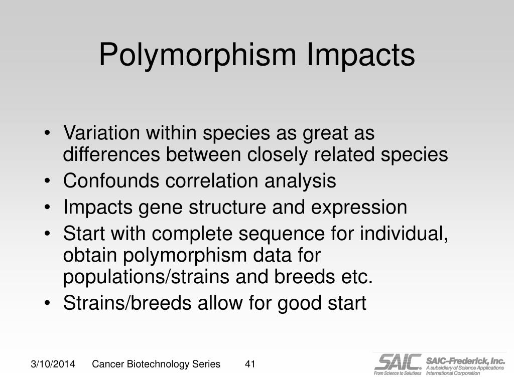 Polymorphism Impacts