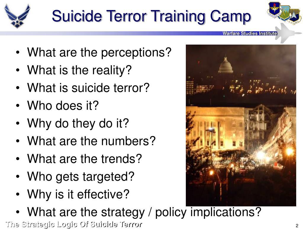 Suicide Terror Training Camp