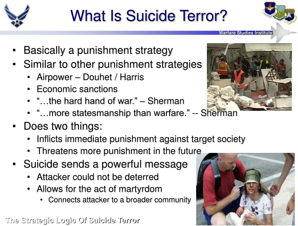 What Is Suicide Terror?