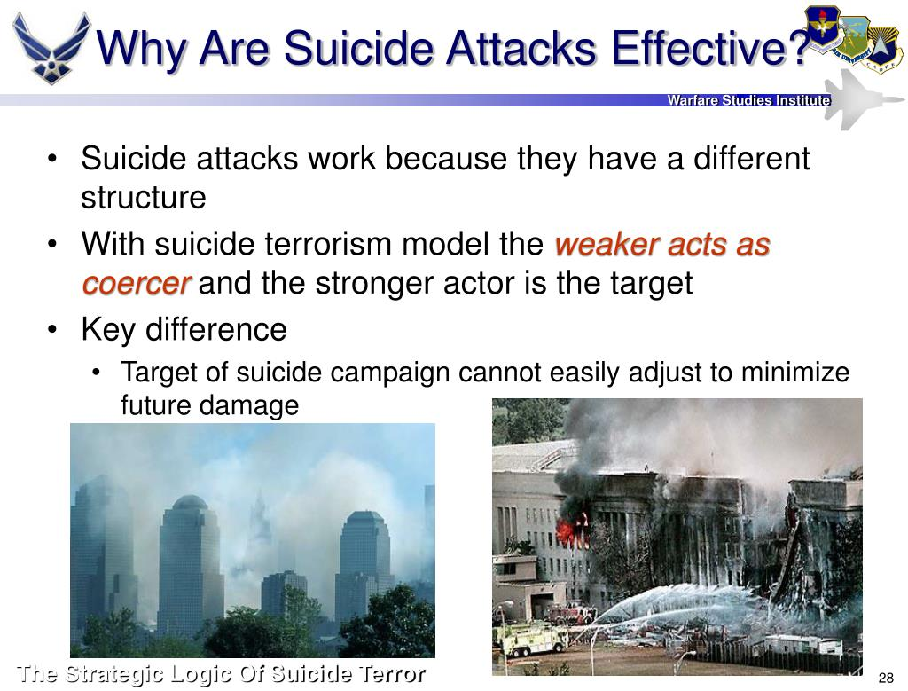 Why Are Suicide Attacks Effective?