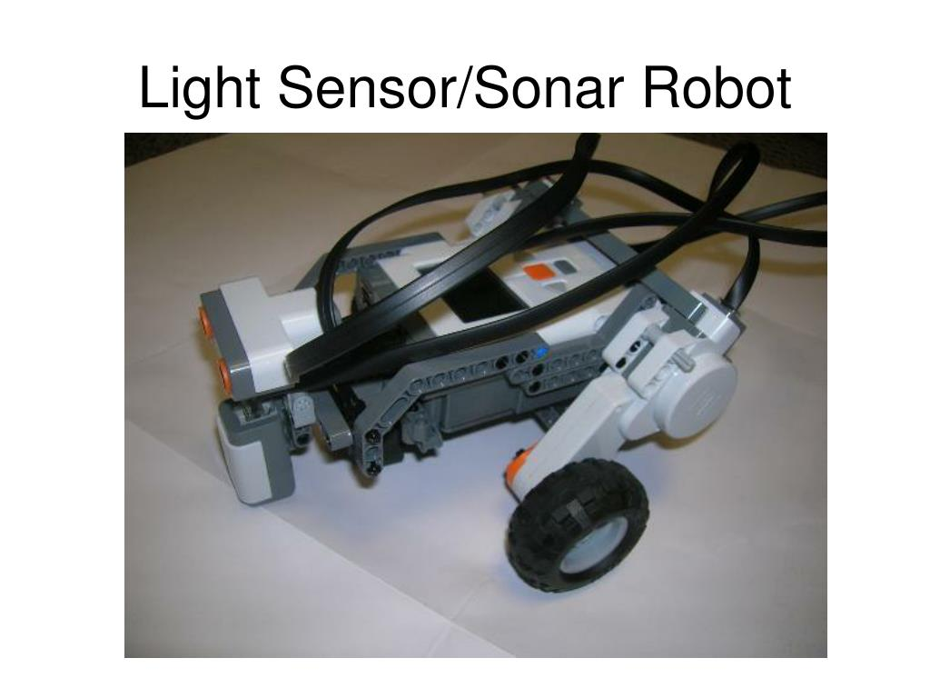 Light Sensor/Sonar Robot