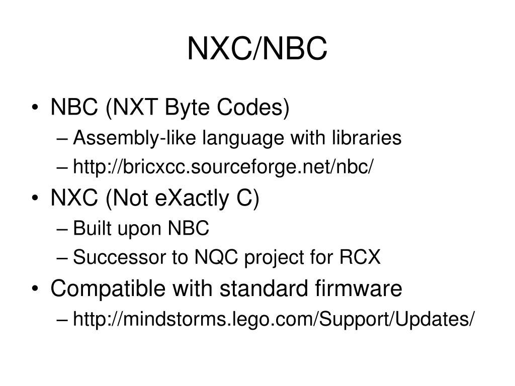NXC/NBC