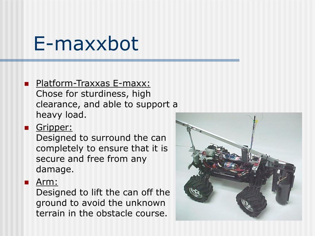 E-maxxbot
