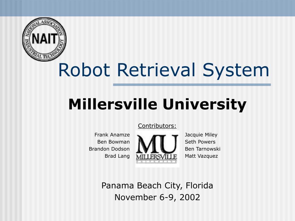 Robot Retrieval System