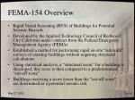 fema 154 overview