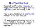 the power method16