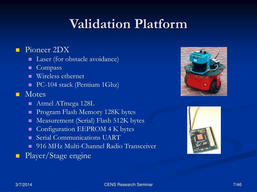 Validation Platform