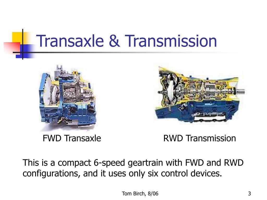 Transaxle & Transmission