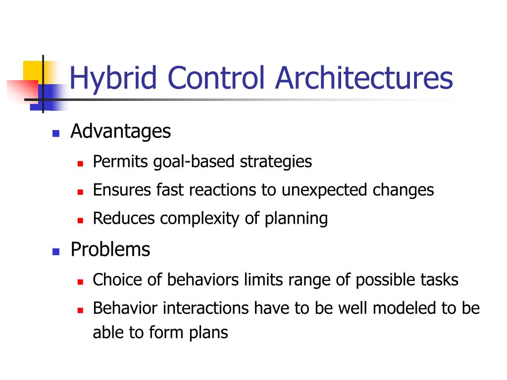 Hybrid Control Architectures