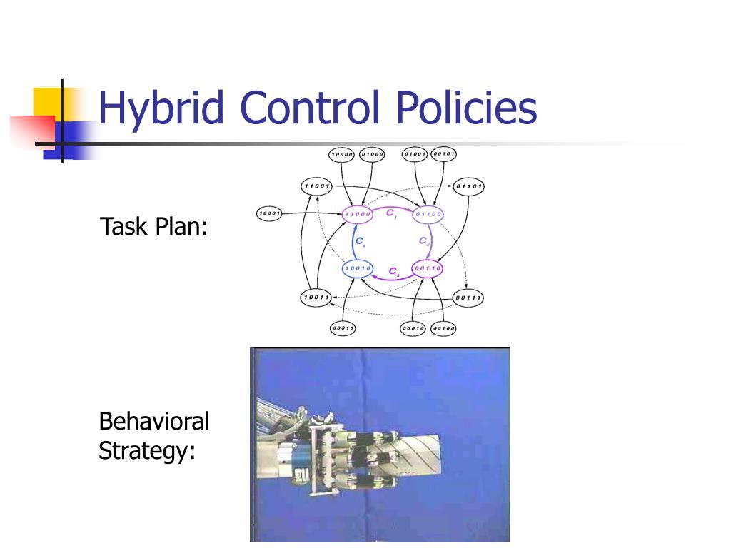 Hybrid Control Policies