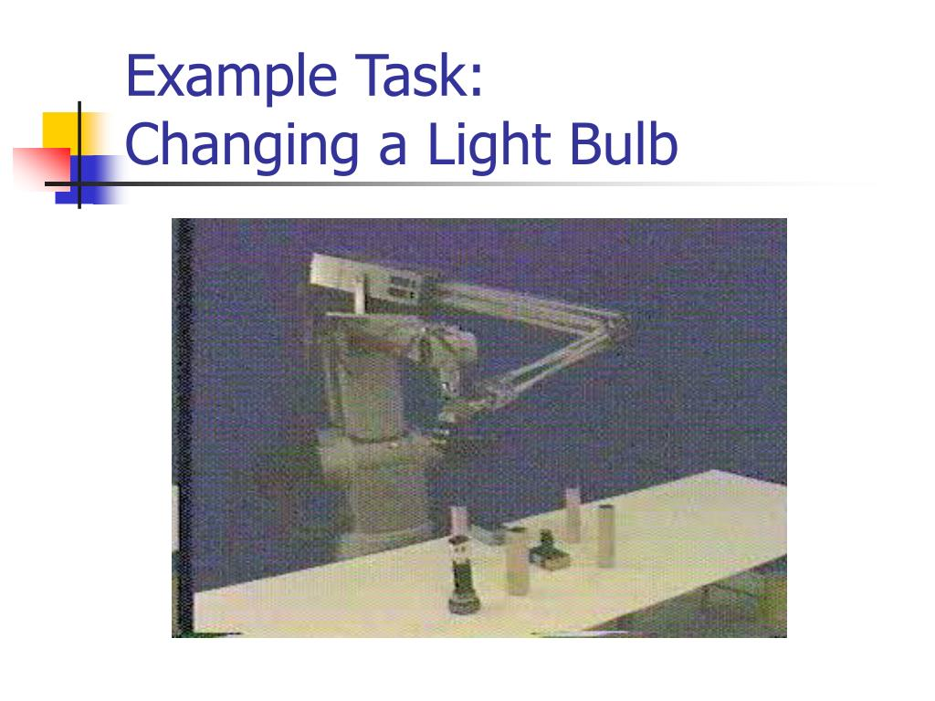 Example Task: