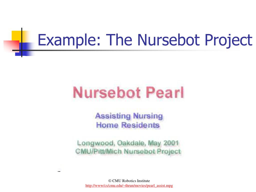 Example: The Nursebot Project
