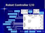 robot controller i o