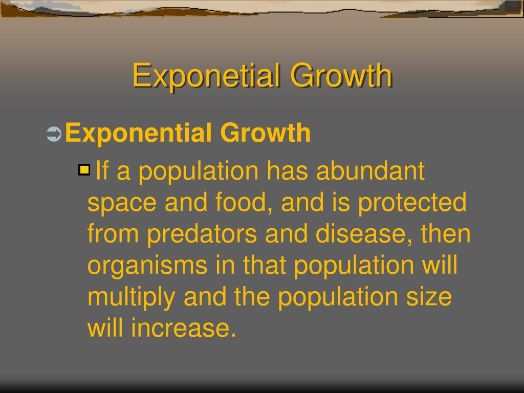 Exponetial Growth