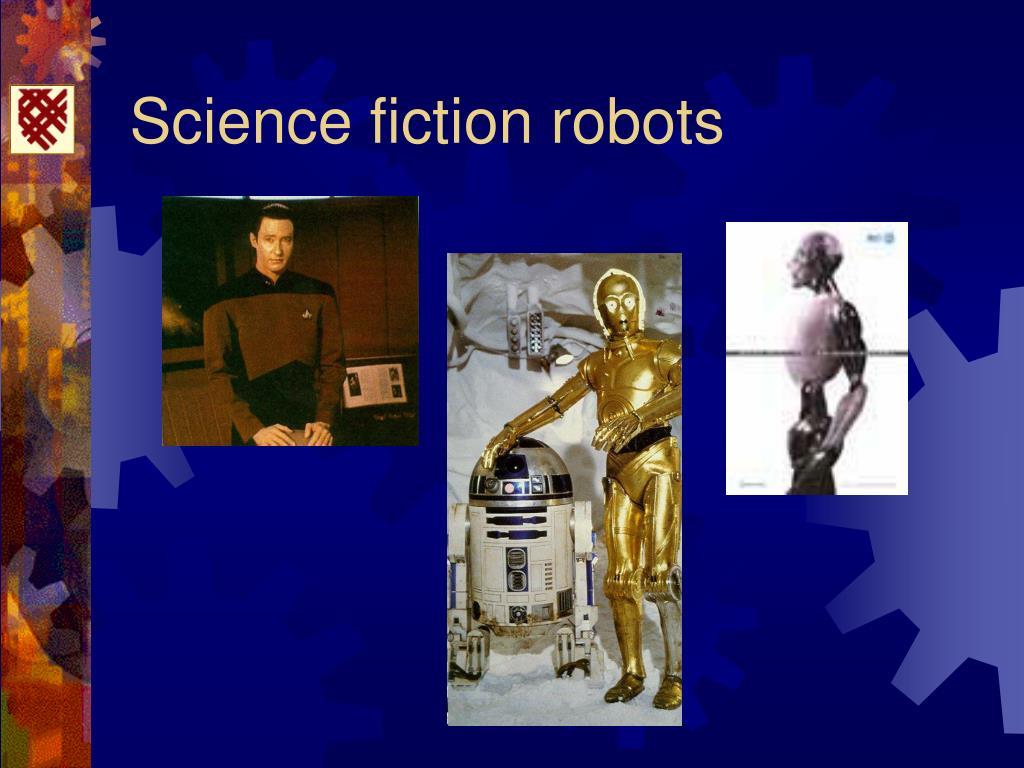 Science fiction robots